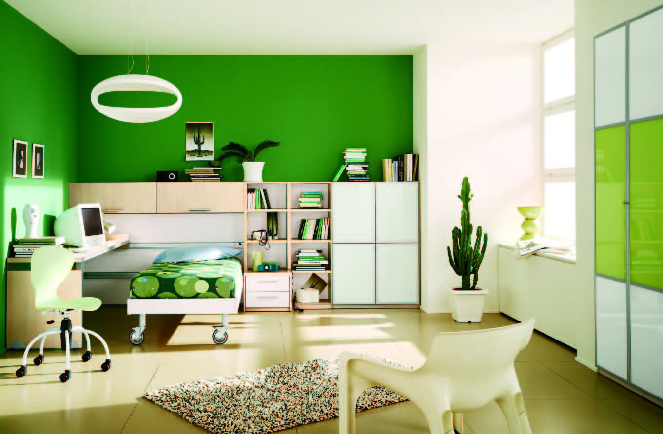 Modern Bedroom Green custom 60+ green themed room design inspiration of 20 refreshing