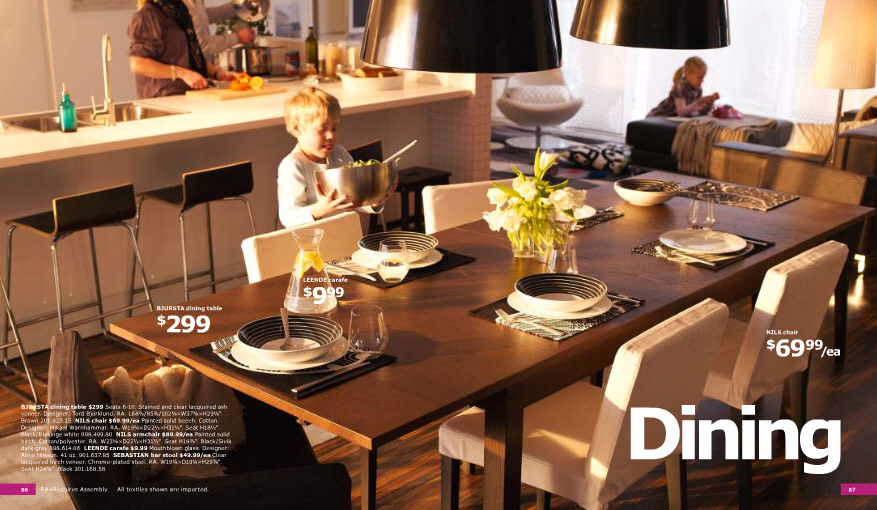 Ikea 2011 catalog full - Ikea dining rooms ...
