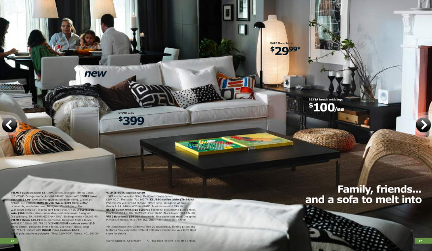 Living Room Furniture Designs Catalogue ikea 2011 catalog [full]