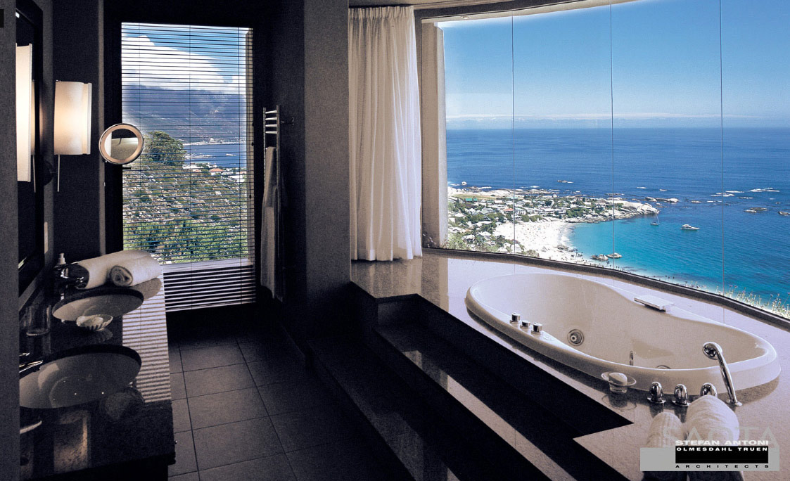 Luxury Bathrooms With A View 50 Luxury Oases That Could Tempt You Into  Early Retirement