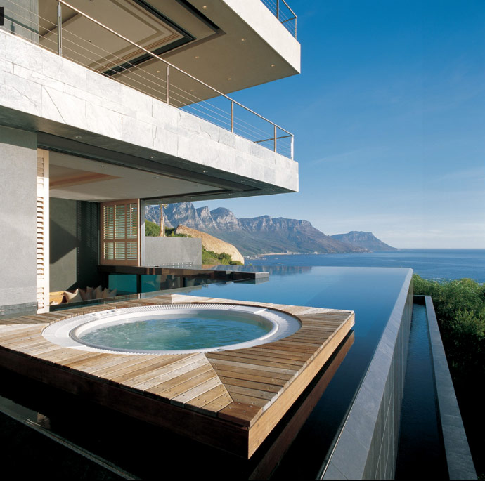 Modern Haus Design Mit Pool And Meerblick
