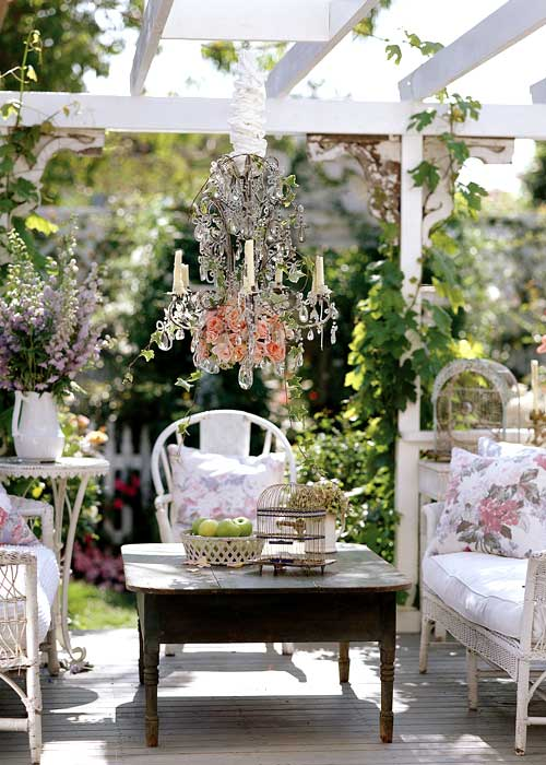 Creating outdoor spaces for country living for Decorating outdoor spaces