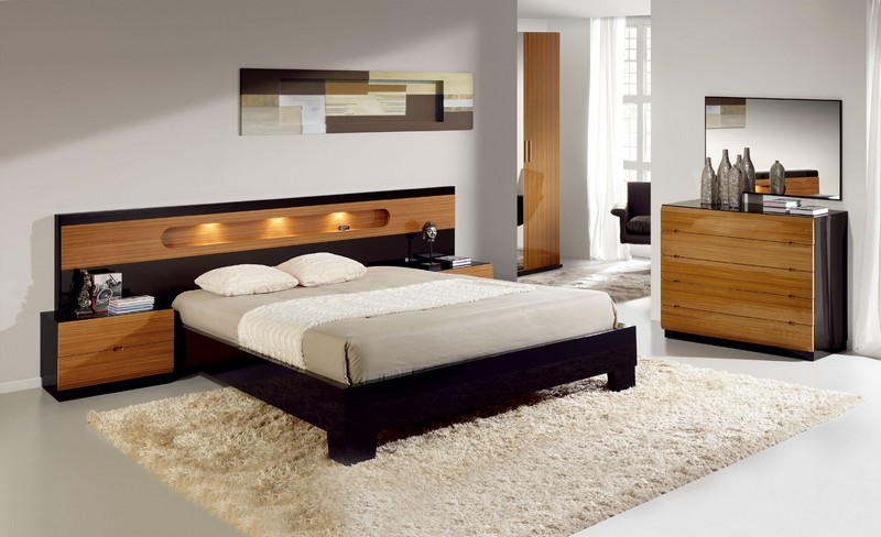bedroom headboard lighting bed design ideas - Bed Design Ideas