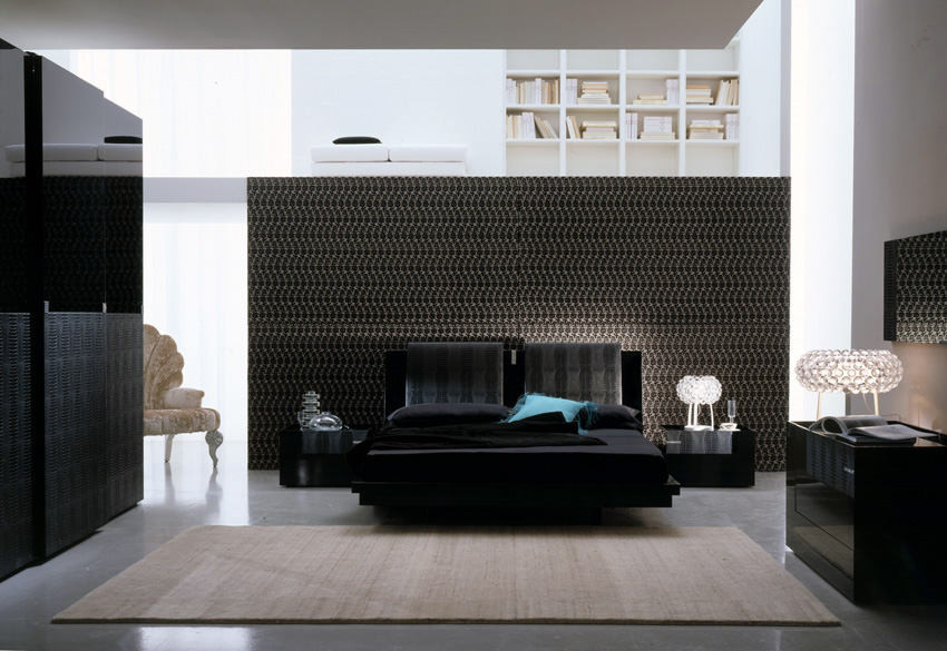 Bedroom decorating ideas from evinco Set de chambre king noir