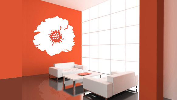 Hot New Ideas For Wall Sticker Art - Wall designs pictures