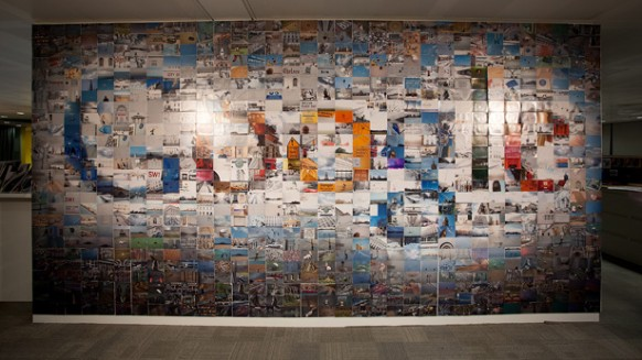 Nice Google London Office Wall Art