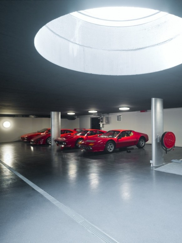 luxury garage design