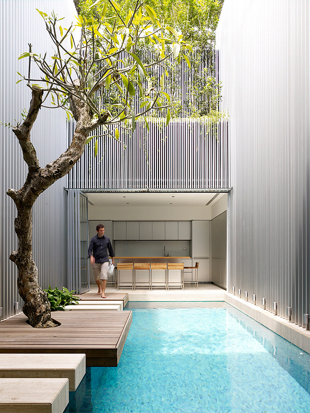 Courtyard design and landscaping ideas for Minimalist house with courtyard