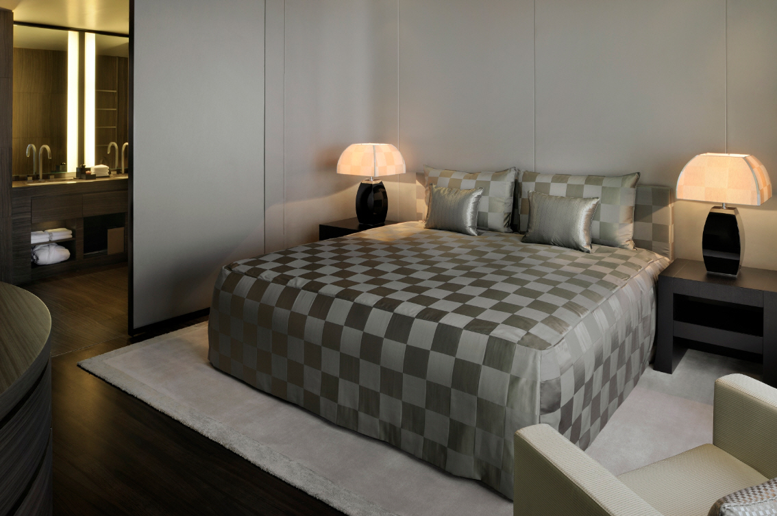 Interiors Of Armani Hotel Dubai Burj Khalifa - Armani bedroom design