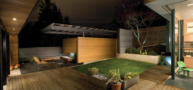 via 15 innovative designs for courtyard - Courtyard Design Ideas