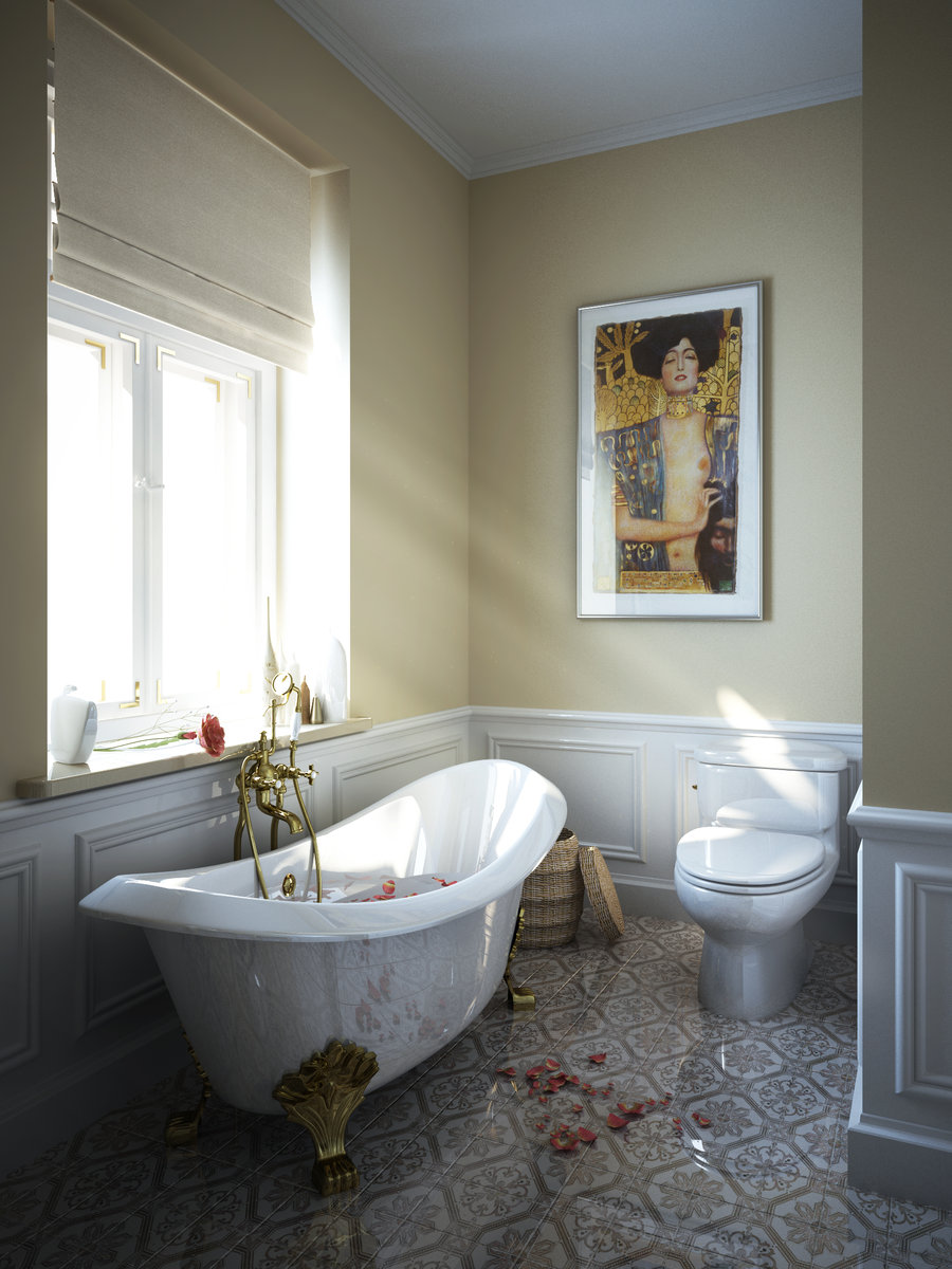 Clawfoot Tub Bathroom Design Ideas ~ Inspiring bathroom designs for the soul