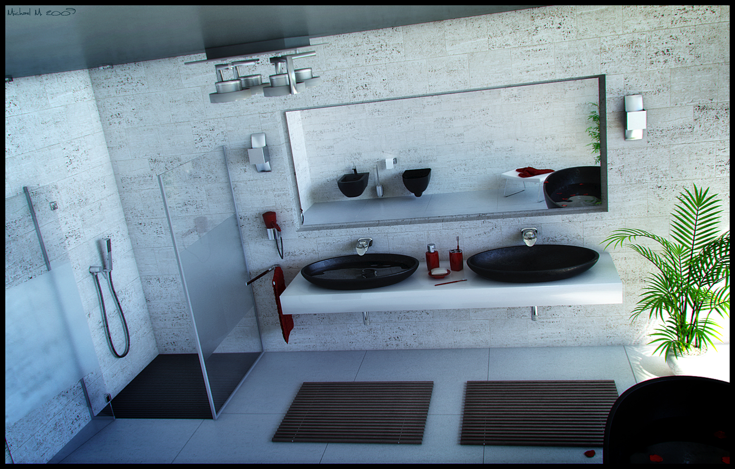 Inspiring bathroom designs for the soul for Modern bathroom