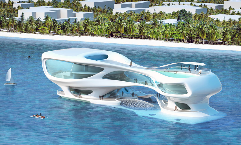 Concept Architecture Marine Research Center In Bali