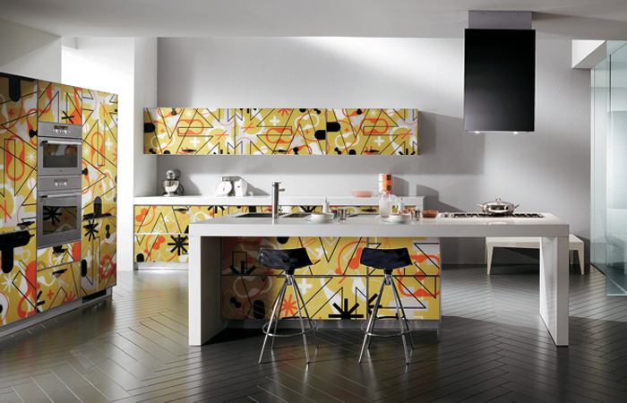 modern style italian kitchens from scavolini