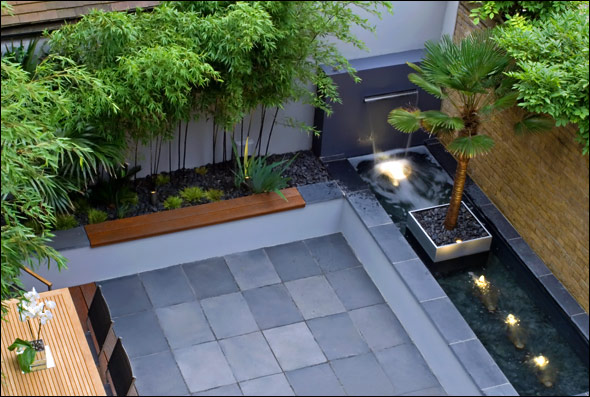 Beautiful roof gardens and landscape designs for Modern backyard landscaping