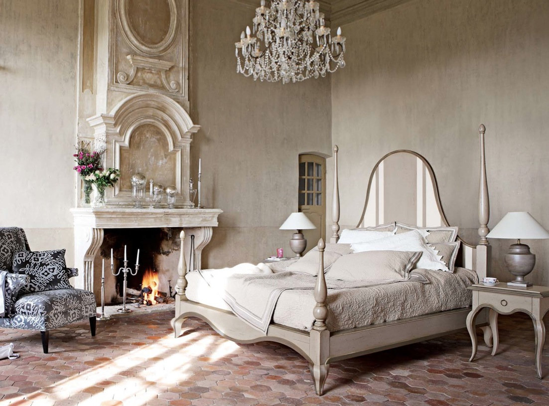 Modern classic and rustic bedrooms for Rustic french bedroom