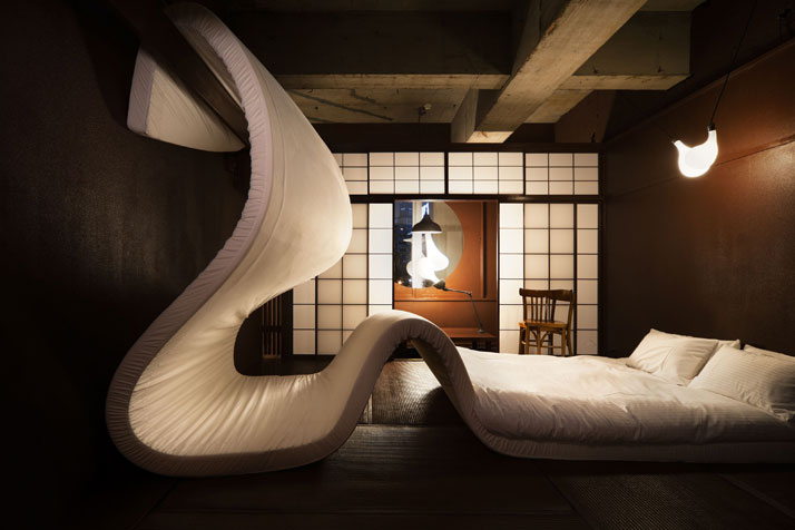 Love themed hotel in tokyo for Different bedroom styles