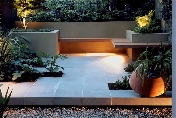 Beautiful roof gardens and landscape designs for Contemporary garden design
