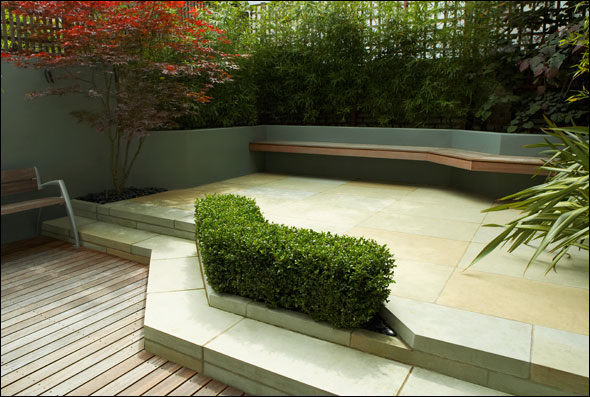 Modern Garden Design Ideas 590 x 397