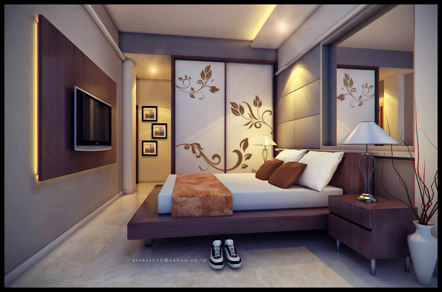 by arya - Bedrooms Walls Designs