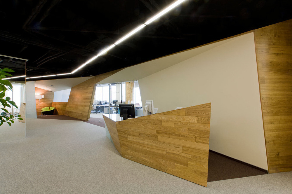 russian web company yandex 39 s offices On cool office reception
