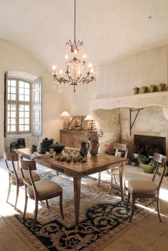 Elegant dining rooms