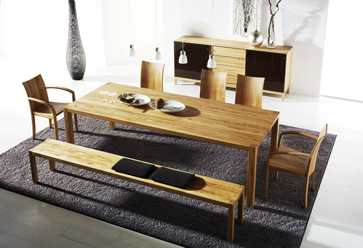 Modern dining room furniture - Modern design dining table ...