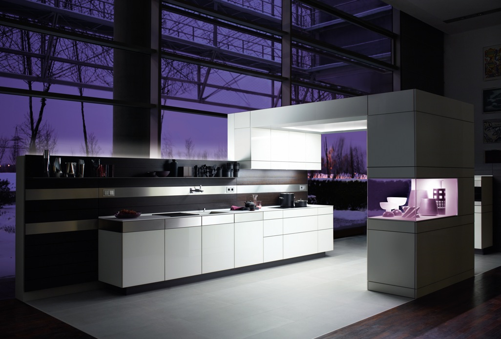 Design Decor Purple Kitchens