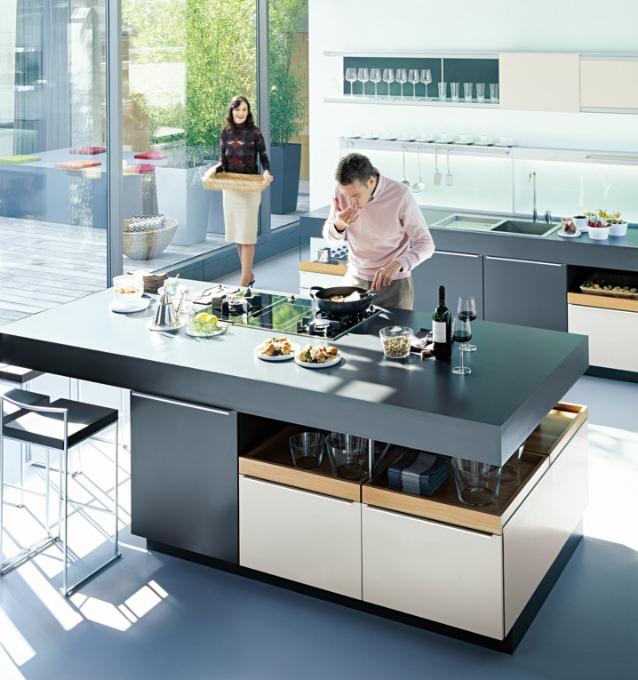Island Kitchen Design Ideas: Kitchens From German Maker Poggenpohl