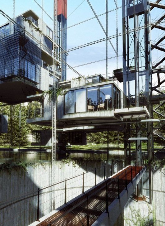 Winners Of The Hover Architectural Visualization Contest