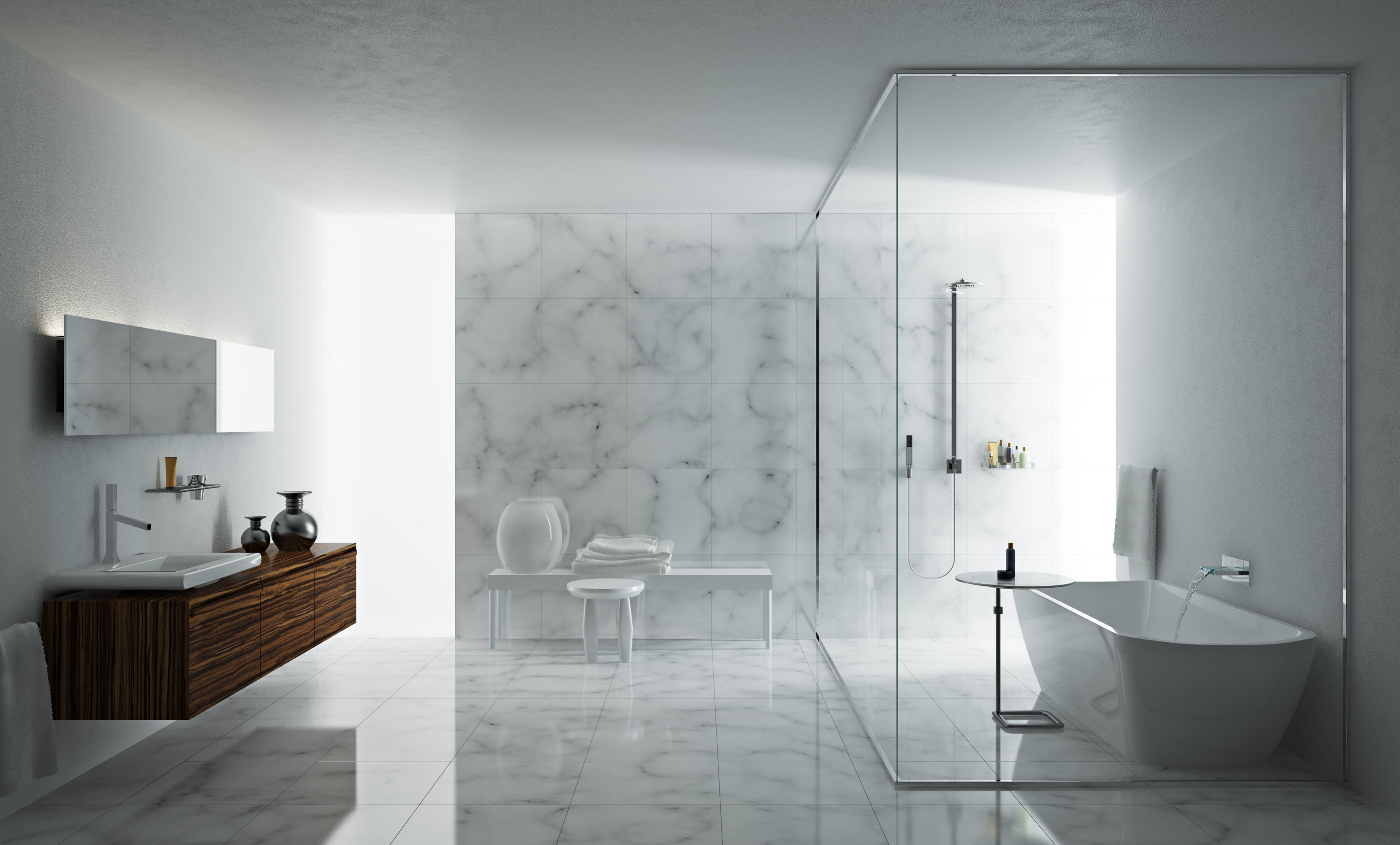 Outstanding White Marble Bathroom Design 3599 x 2171 · 697 kB · jpeg