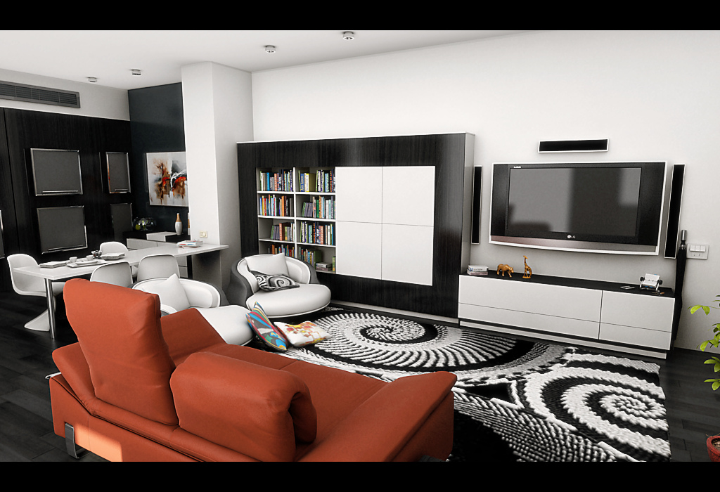Living Room  Scan Design  Modern amp Contemporary