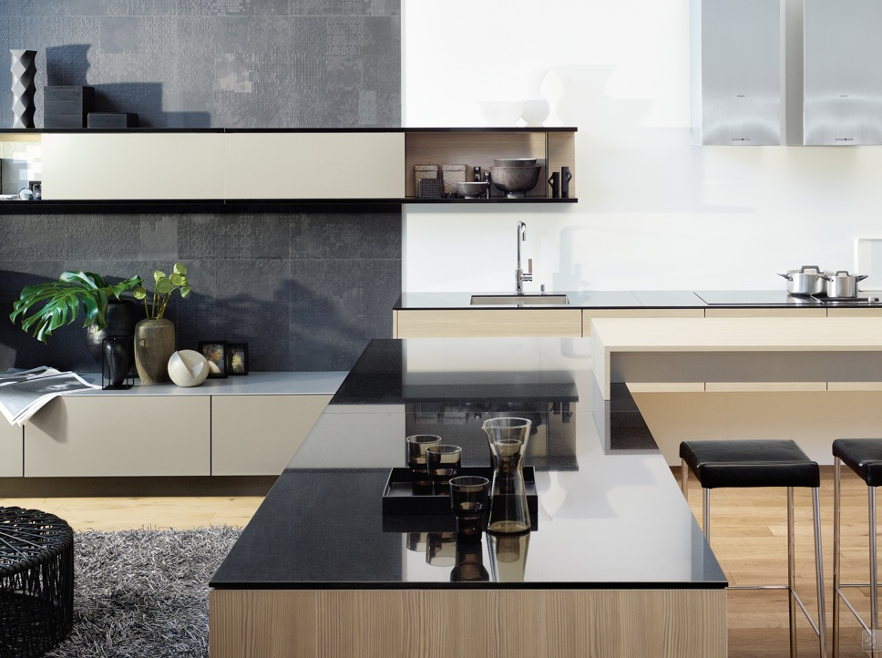 Kitchens from german maker poggenpohl for Modern german kitchen designs