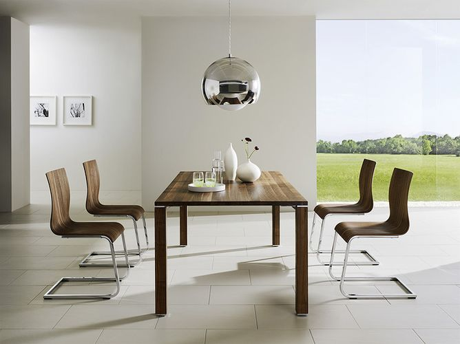 Modern dining room furniture for Contemporary dining table decor