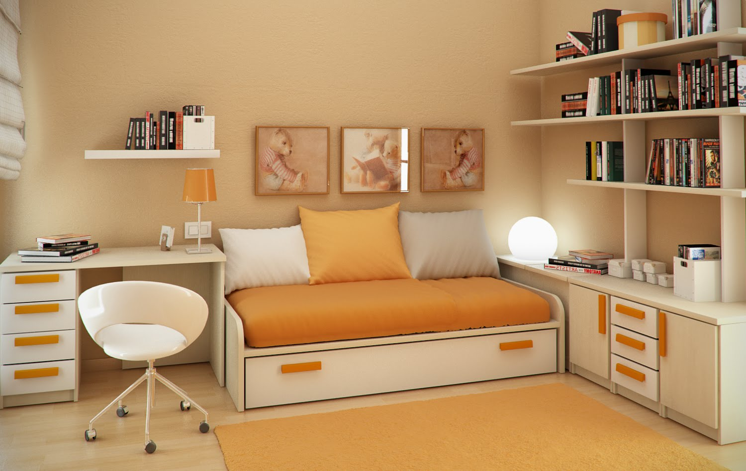 small floorspace kids rooms rh home designing com Small Living Room Furniture Layout Small Family Room Furniture