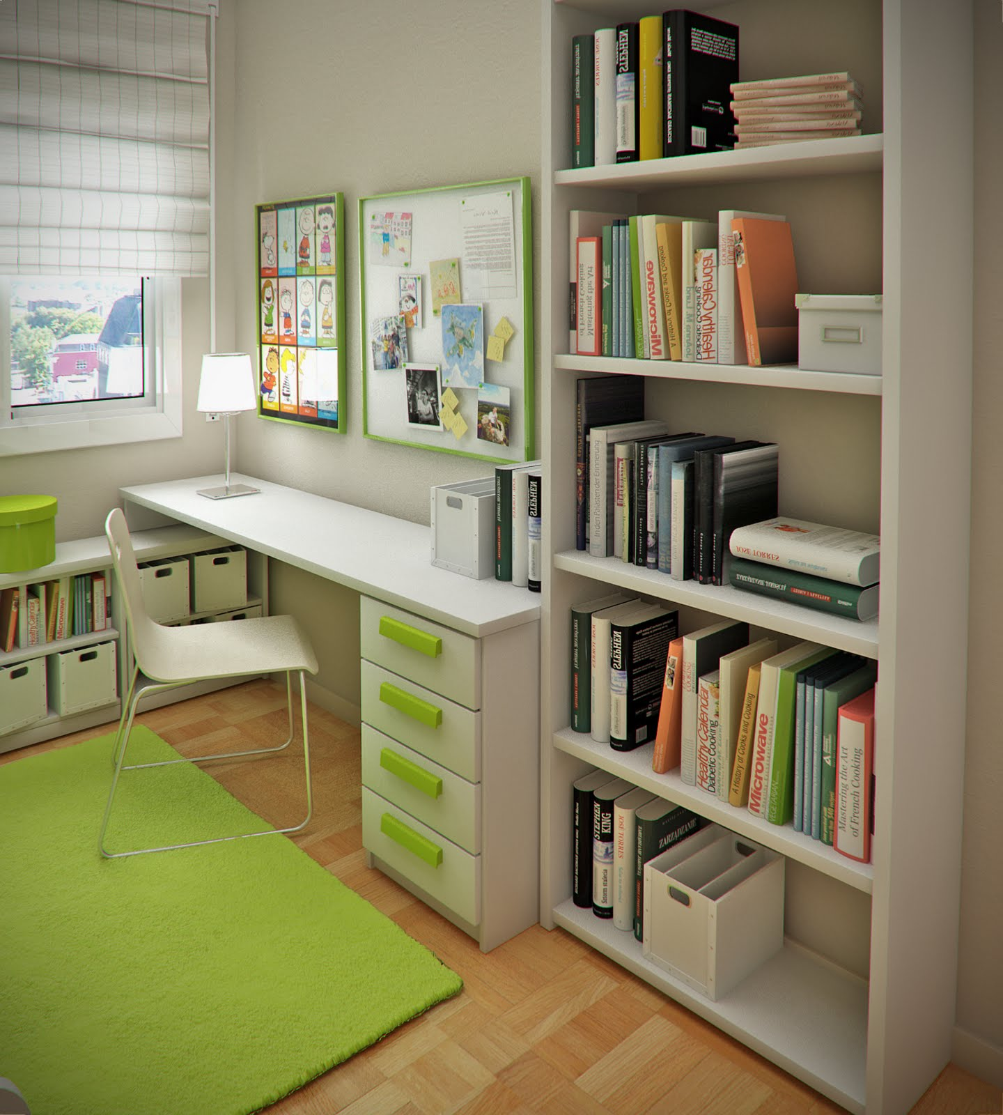 Childrenu0027s Study · Biege Kids Room