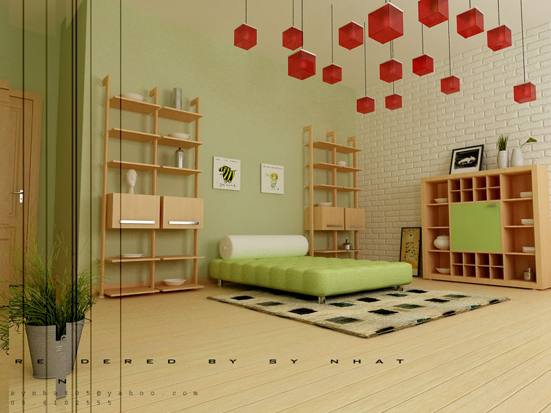 Rooms for young creative people - Room ideas for small space decoration ...