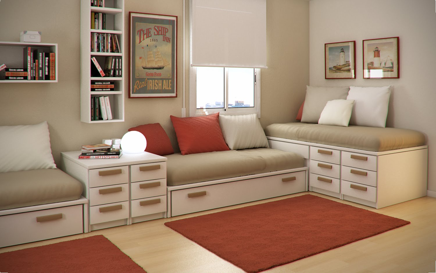 Home Interiors Kids Small Floorspace Kids Rooms