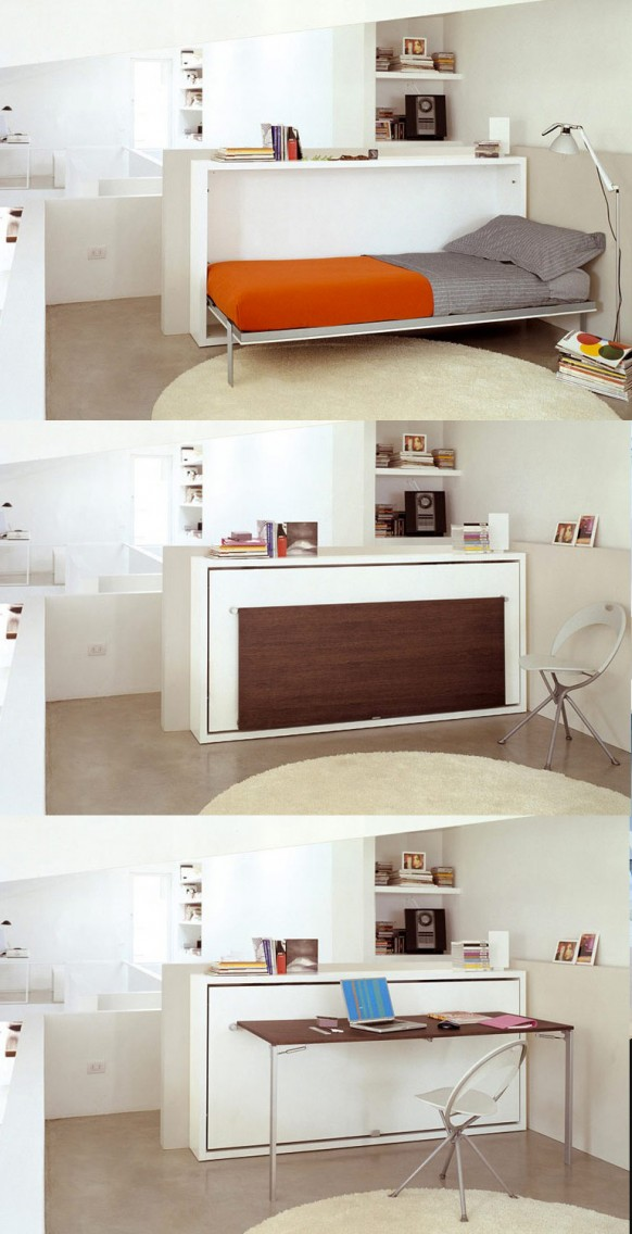 transforming furniture 582x1136 Muebles Multiproposito