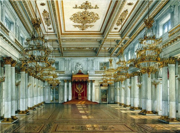 St George Hall opulent grand russian palace