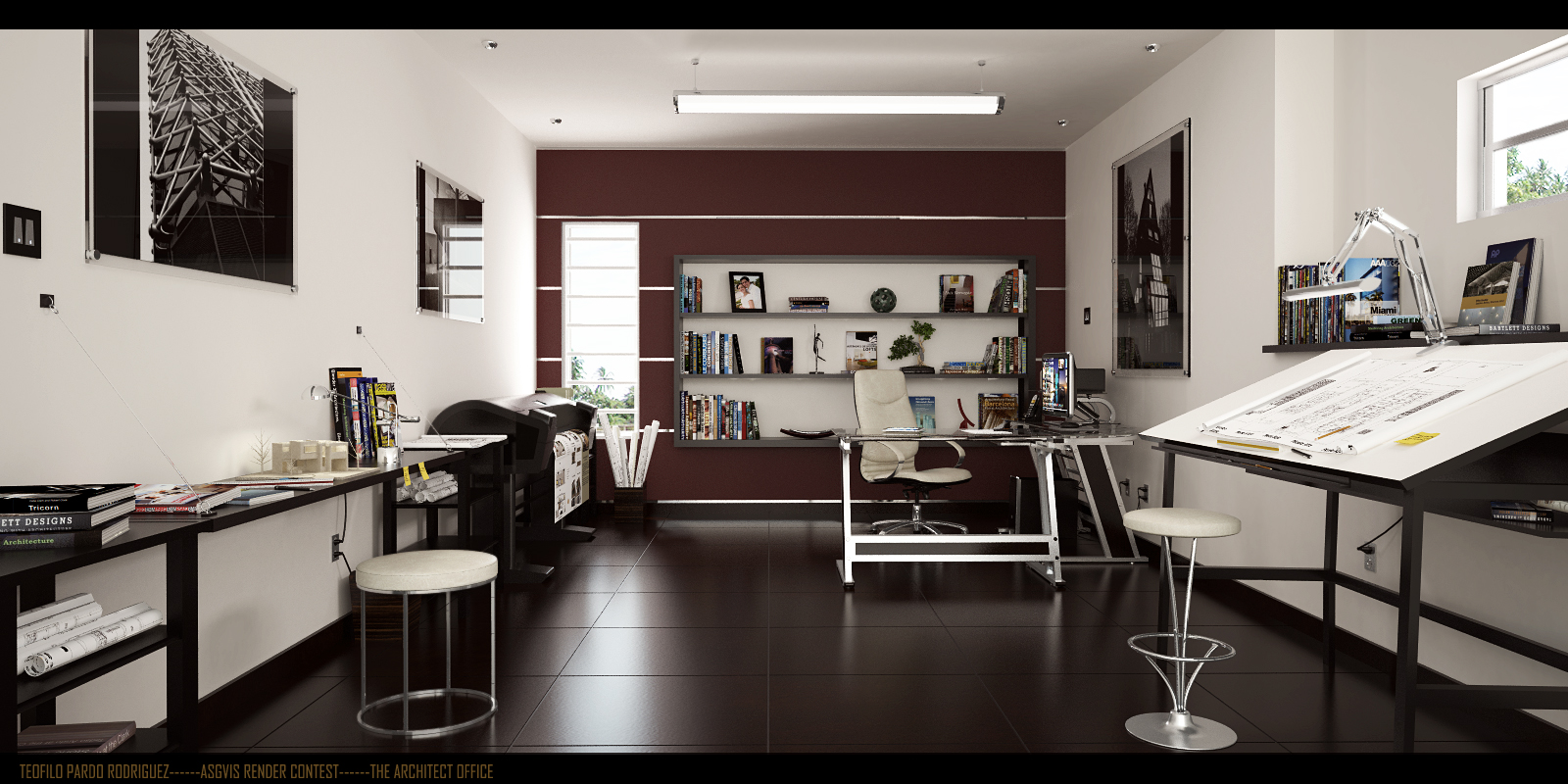 Pleasant Architect Home Office Feduchi Office Desks Contemporaryhomeoffice Largest Home Design Picture Inspirations Pitcheantrous