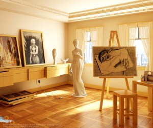 artists studio creative spaces inspirational rooms