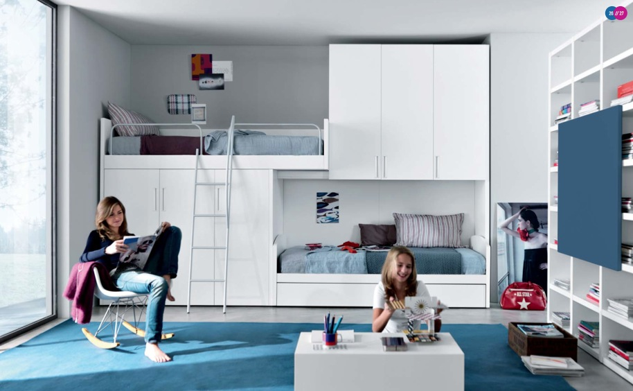 Bedroom Small Space Design teenager's rooms
