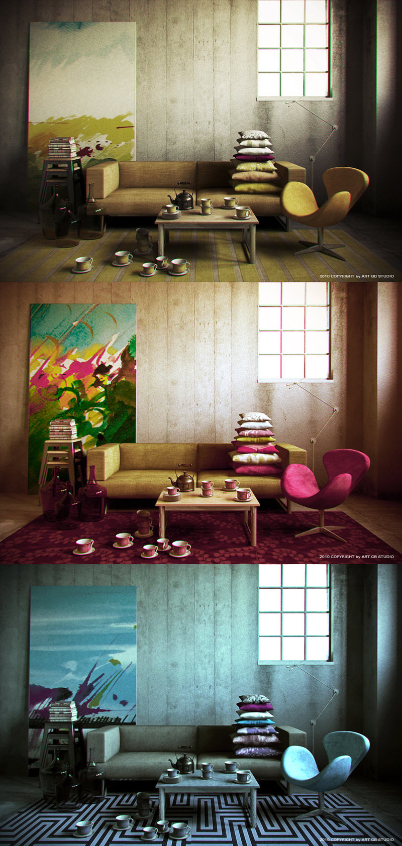 color concept sitting rooms gorgeb