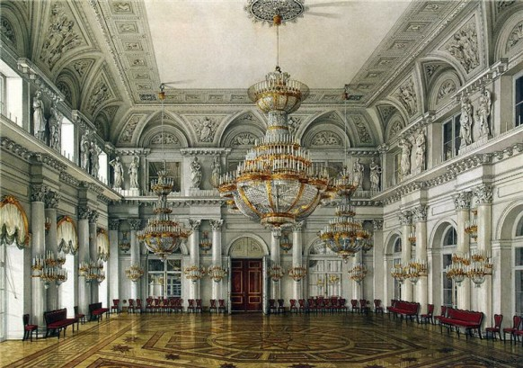 concert hall grand opulent russian palace
