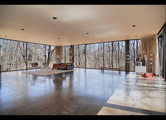 family living open plan ferris bueller's day off house