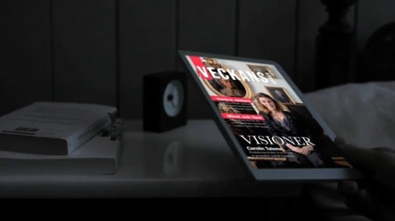 How you will read magazines and newspapers in the future