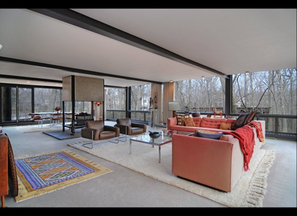 open plan living ferris bueller's day off house
