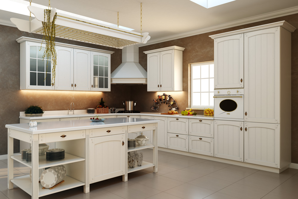 Kitchen inspiration for White kitchen colour schemes