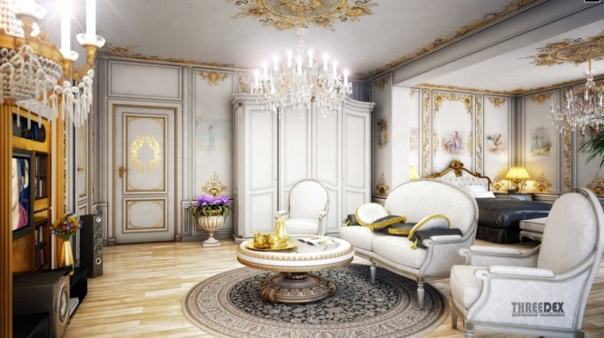 chandeliers wallpapers embellishments